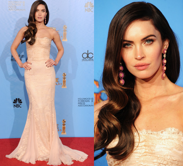 Megan Fox Golden Globes