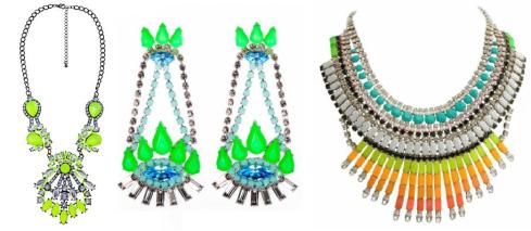 neon jewellery